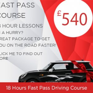 Fast Pass Driving Course 18 Hours with Roadrunners Driving School Kidderminster