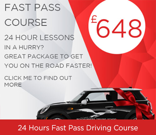 Driving Course 24 Hours when you are in a hurry to pass your driving test from Roadrunners Driving School Kidderminster