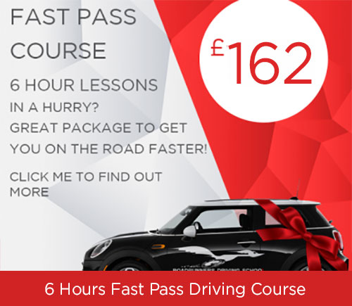 Driving Course 6 Hours when you are in a hurry to pass your driving test from Roadrunners Driving School Kidderminster