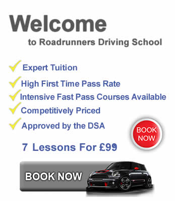 Driving Lessons In Stourport 7 lessons just £9